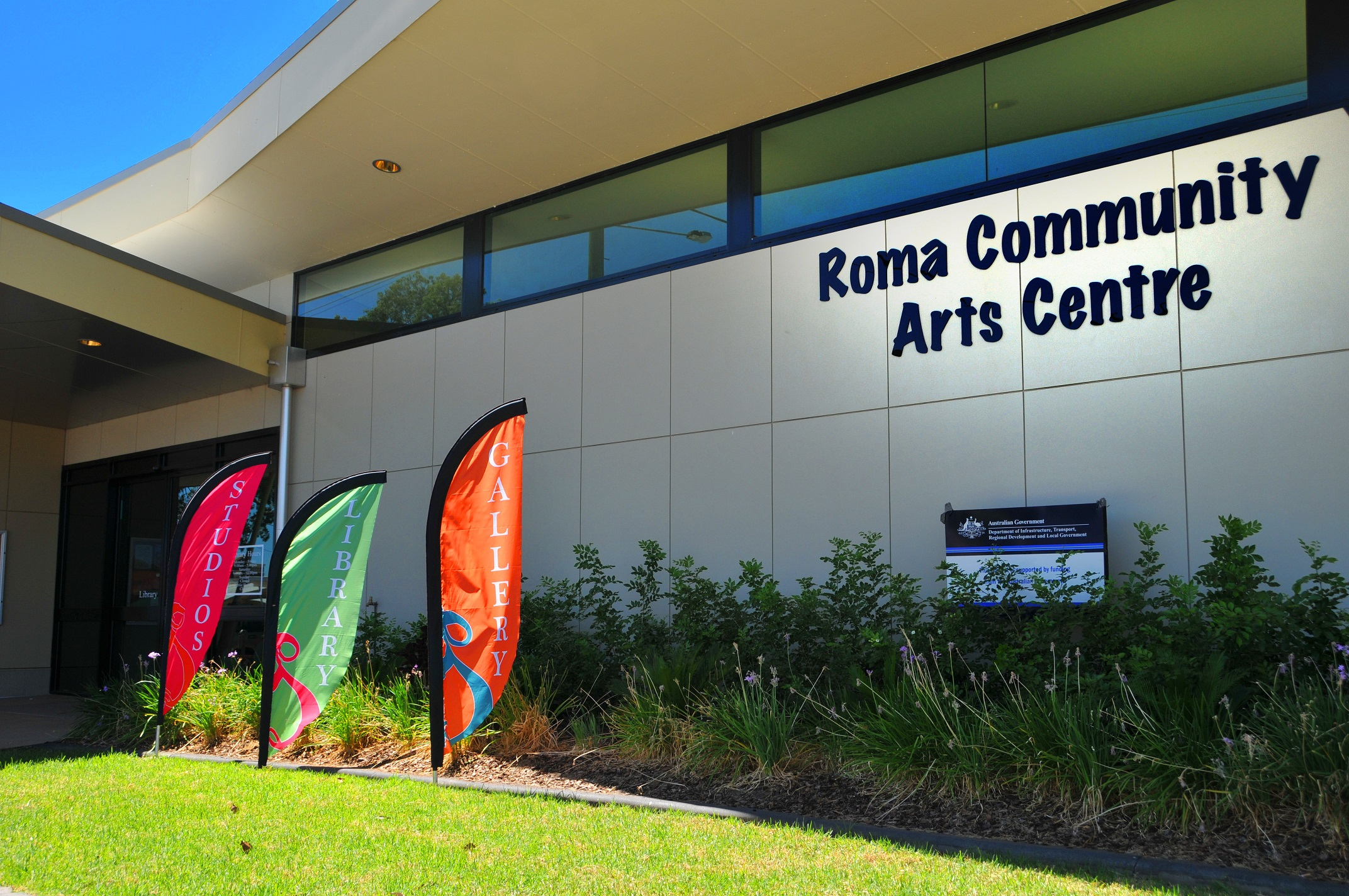 Roma Community Arts Centre