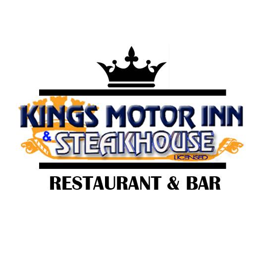 Kings Motor Inn and Steakhouse Logo