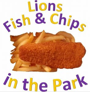 Lions Fish and Chips in the park