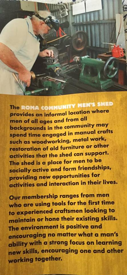 Roma Community Mens Shed 2