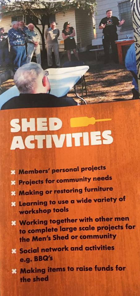 Roma Community Mens Shed