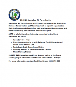 204SQN Australian Air Force Cadets