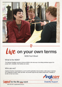 Anglicare Live On Your Own Terms