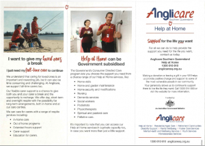 Anglicare Help at Home