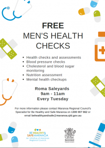 Free Men's Health Checks