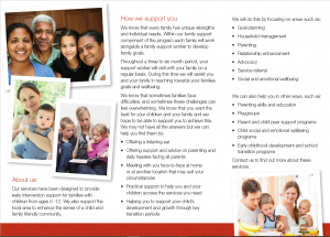Anglicare Children and Parenting Programs 2