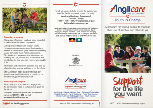 Anglicare Youth In Charge Program