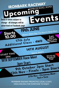 Drags 19th June