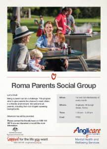 Parents Social Group Anglicare updated