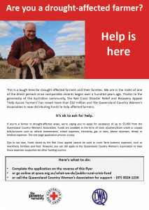 Red Cross Drought Help