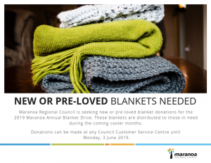 Blanket Donations