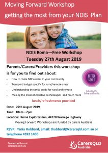 NDIS Workshop - Moving Forward - Roma - 27th August 2019-1
