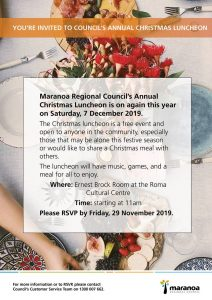 Marnaoa Regional Council Annual Lunch