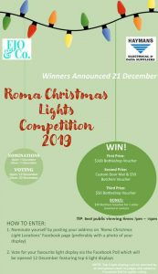 Roma Christmas Lights Competition