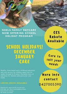 Noelne Welk Daycare Holiday Program