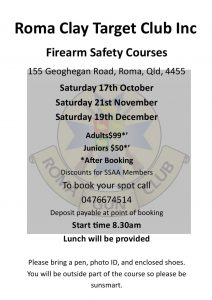 Firearms Course