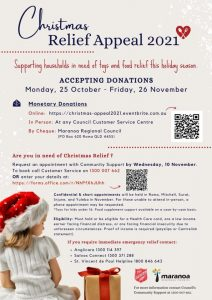 Christmas Relief Appeal